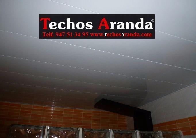 Trabajos profesionales techos de aluminio desmontables decorativos para baños