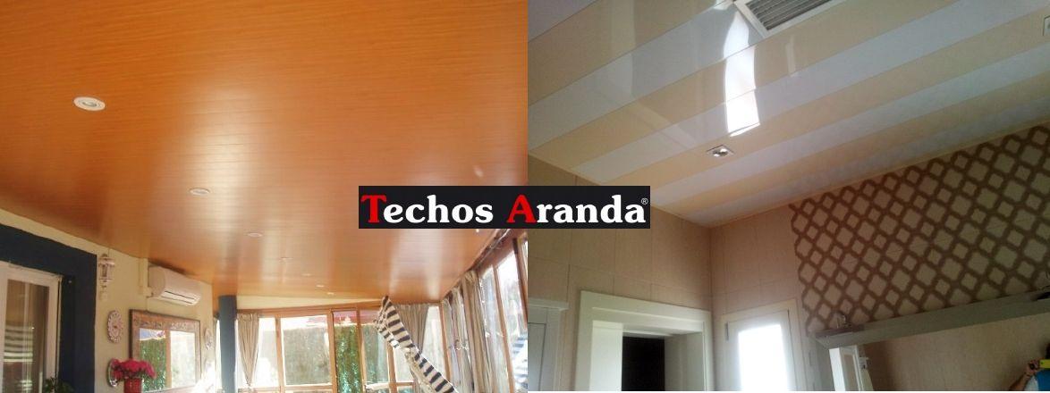 Trabajos profesionales techos de aluminio desmontables decorativos