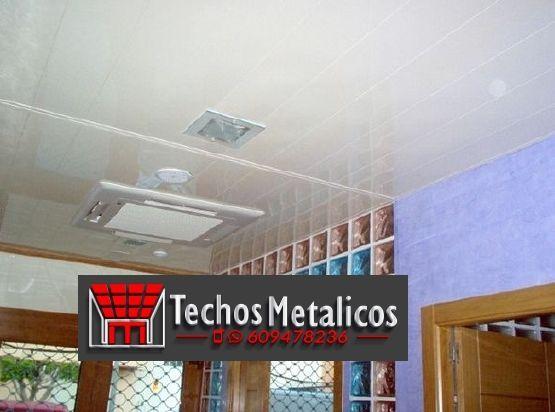 Trabajos profesionales techos de aluminio lacados para cocinas