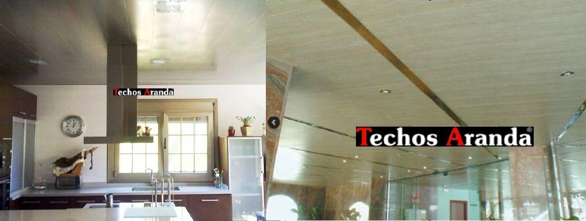 Trabajos profesionales techos de aluminio registrables decorativos para cocinas