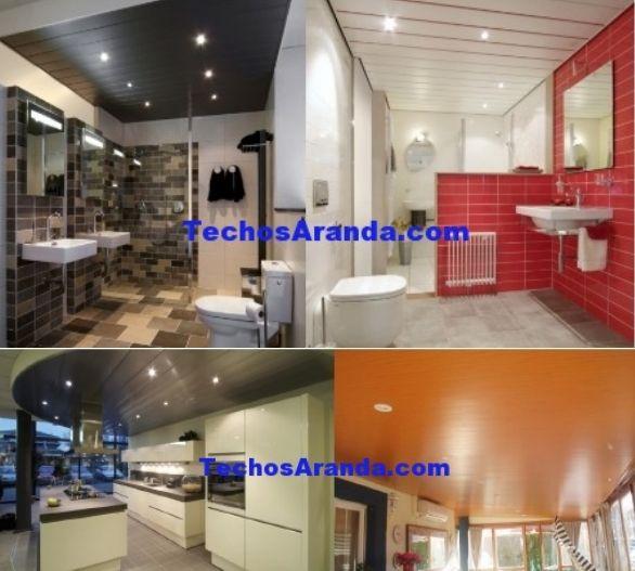 Trabajos profesionales venta techos de aluminio acústicos decorativos