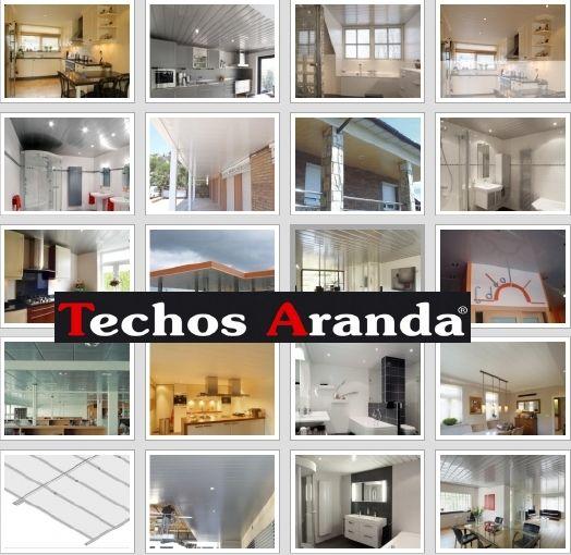 Trabajos profesionales venta techos de aluminio registrables decorativos