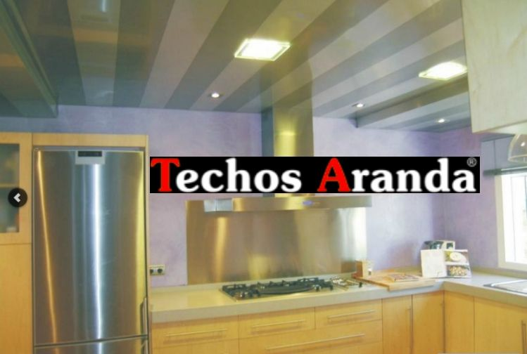 Trabajos techos de aluminio acústicos decorativos para cocinas