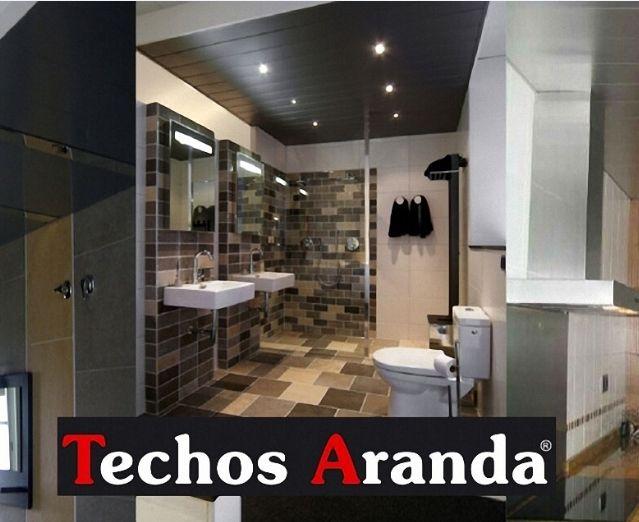 Trabajos techos de aluminio decorativos para baños