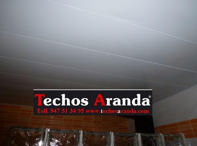 Trabajos techos de aluminio desmontables decorativos para baños