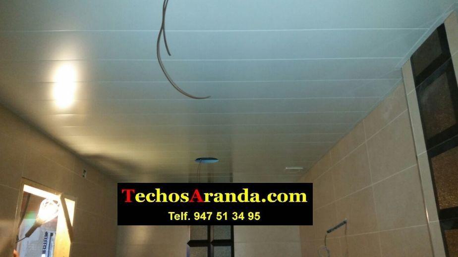 Trabajos techos de aluminio lacados para baños