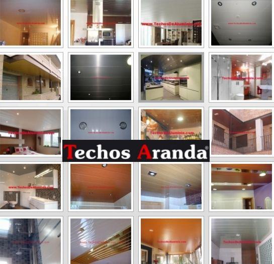 Trabajos venta techos de aluminio acústicos decorativos