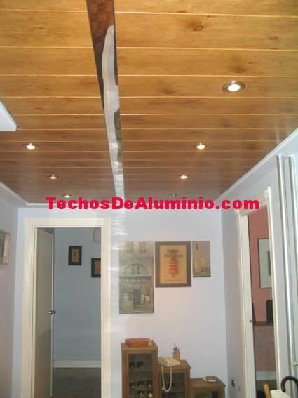 Venta de techos de aluminio acústicos decorativos