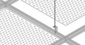 bandeja techo aluminio