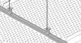 Techos Bandejas fabricadas en acero